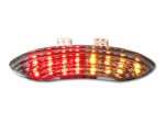 Integrated LED Tail Light Triumph Sprint GT 1050 (2011-) clear lens